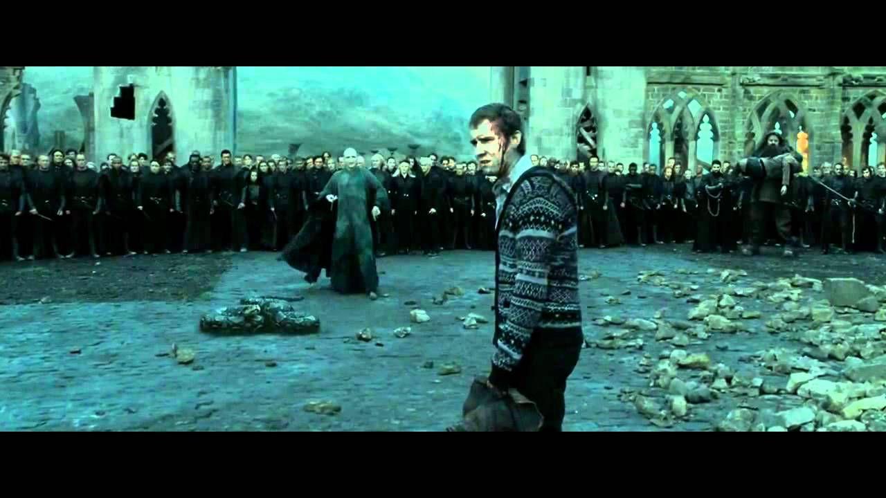 Neville S Speech After Harry Potter Is Dead Very Inspiring Harry Potter Neville Harry Potter Scene Deathly Hallows Part 2