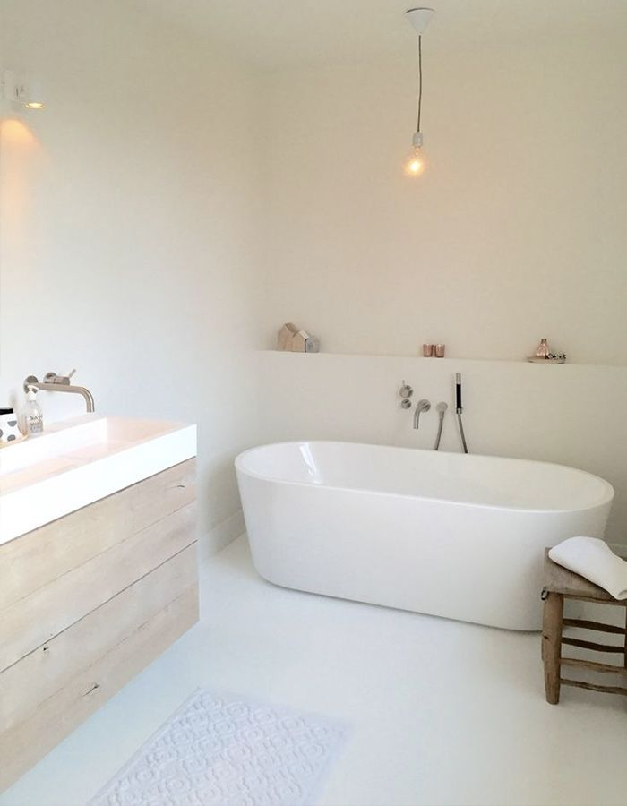 gietvloer badkamer - badkamer | Pinterest - Badkamer, Badkamers en ...