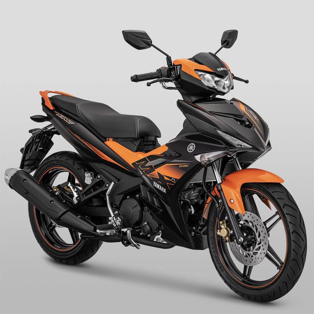 Yamaha Mx King Warna Orange Motor Yamaha Motor Sepeda Motor