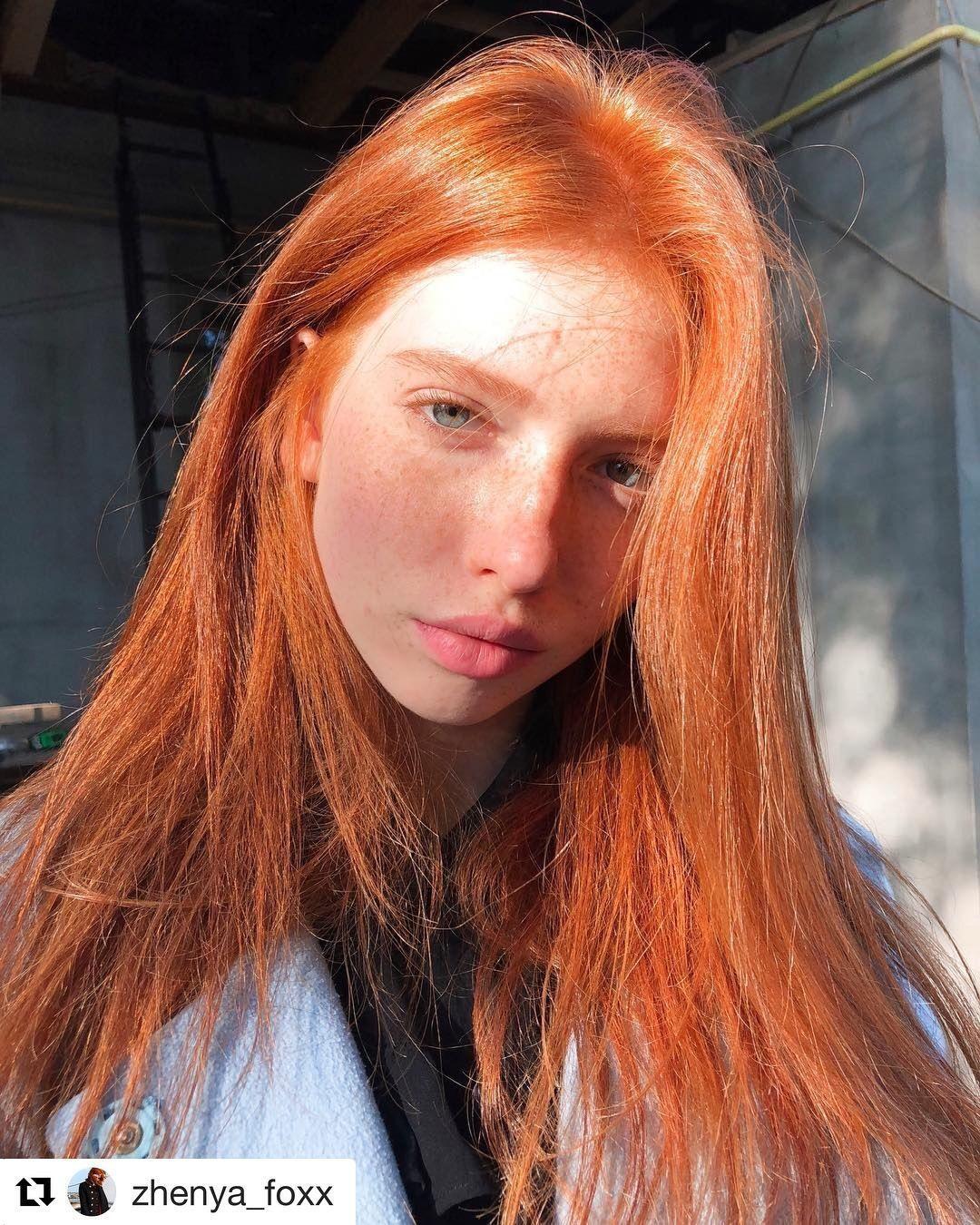 Cabello Naranja Claro