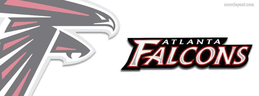 Images Of The Atlanta Falcons Football Logos: Atlanta Falcons Logo Facebook Cover CoverLayout.com