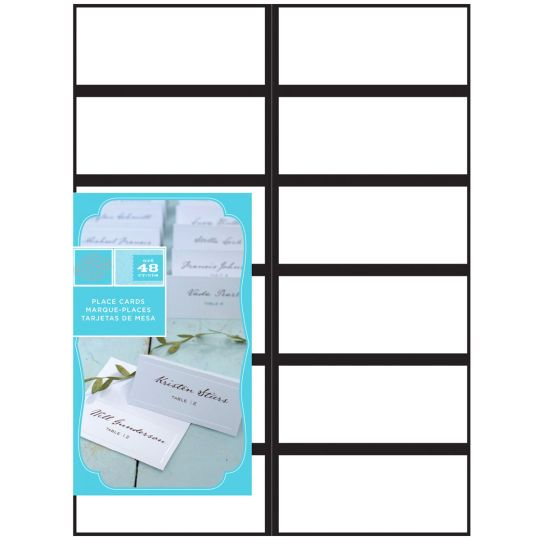Gartner Studios Black Border Place Cards Place Cards Cards Gartner Studios