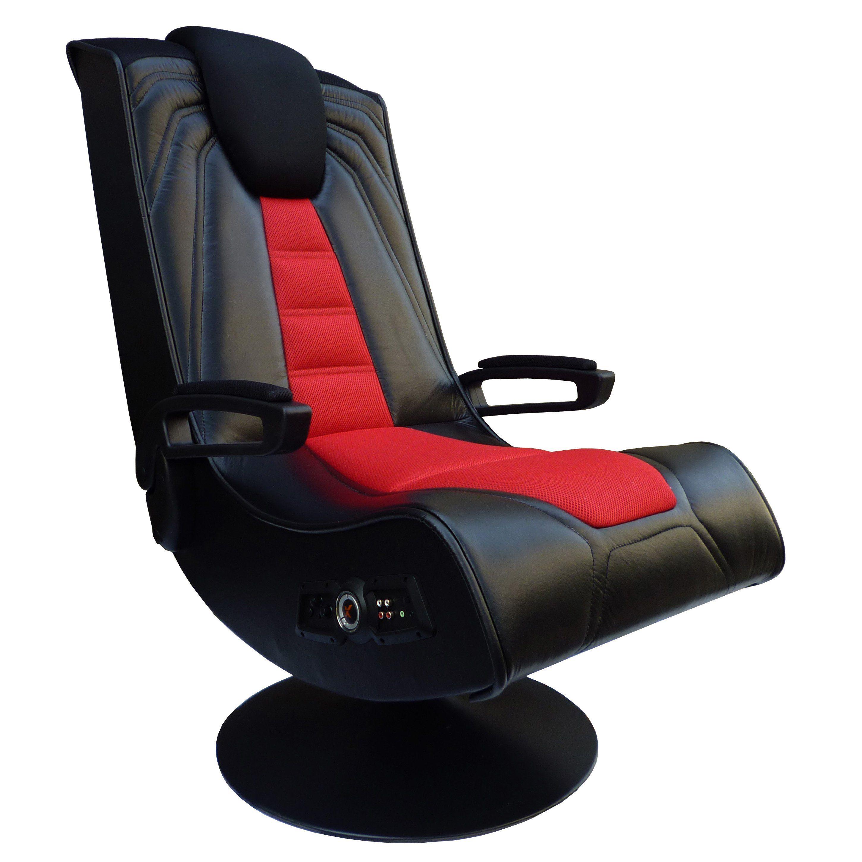 X Rocker Spider 2 1 Wireless Pedestal Game Chair With