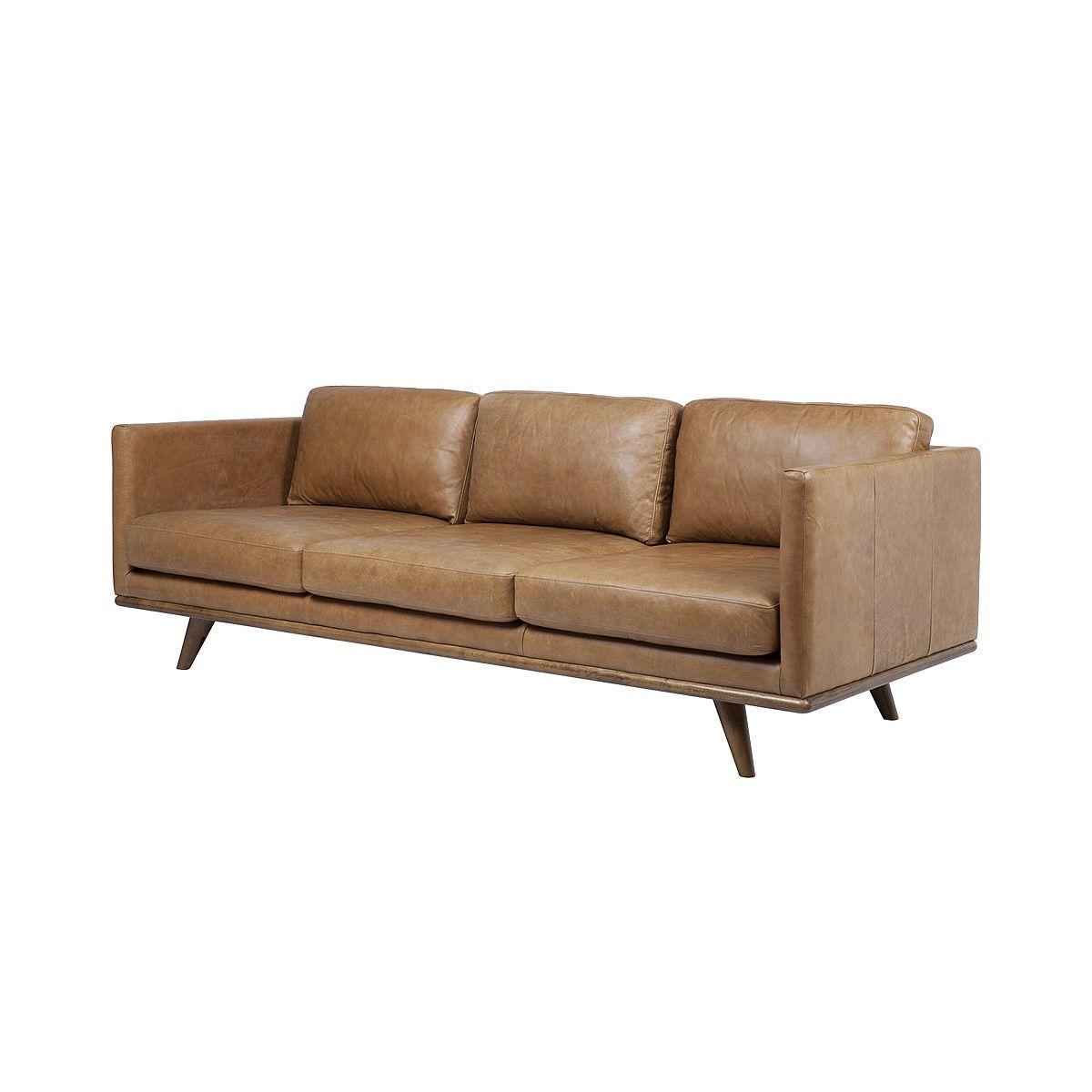 Sofas, Aspen 3 Seater Sofa   Russet