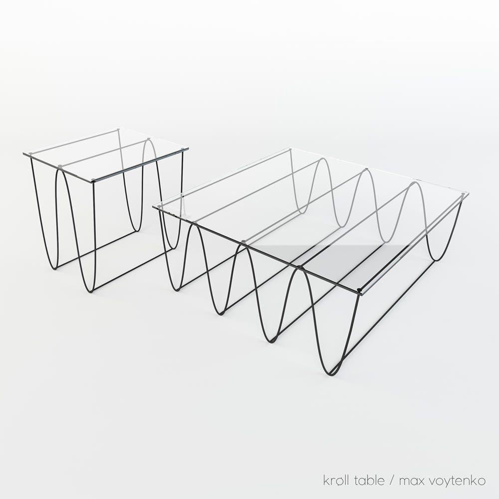 Beau Kroll Furniture By Max Voytenko