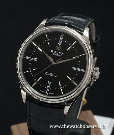 Rolex Cellini Noir