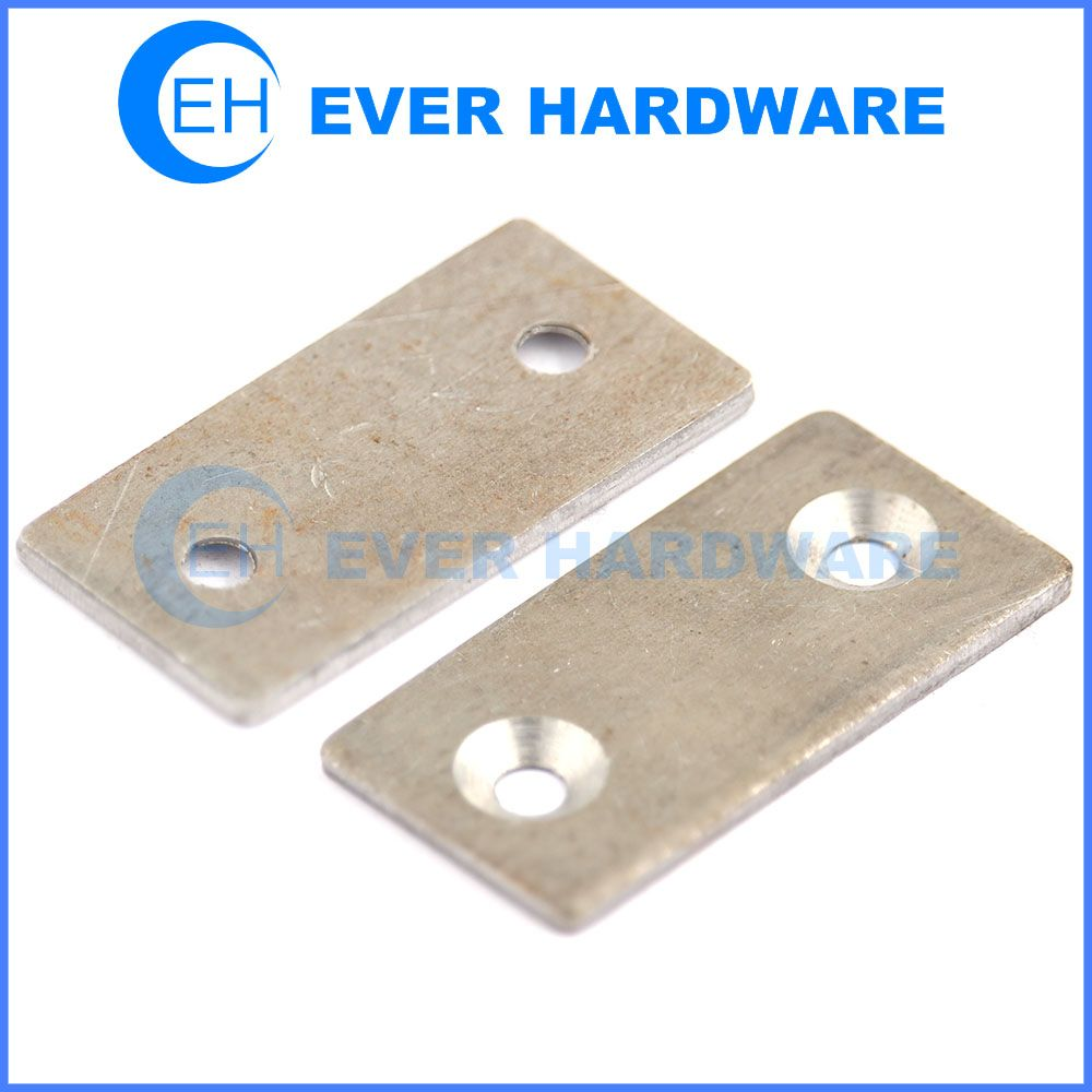 Straight mending plates flat steel brackets fixing joining ...