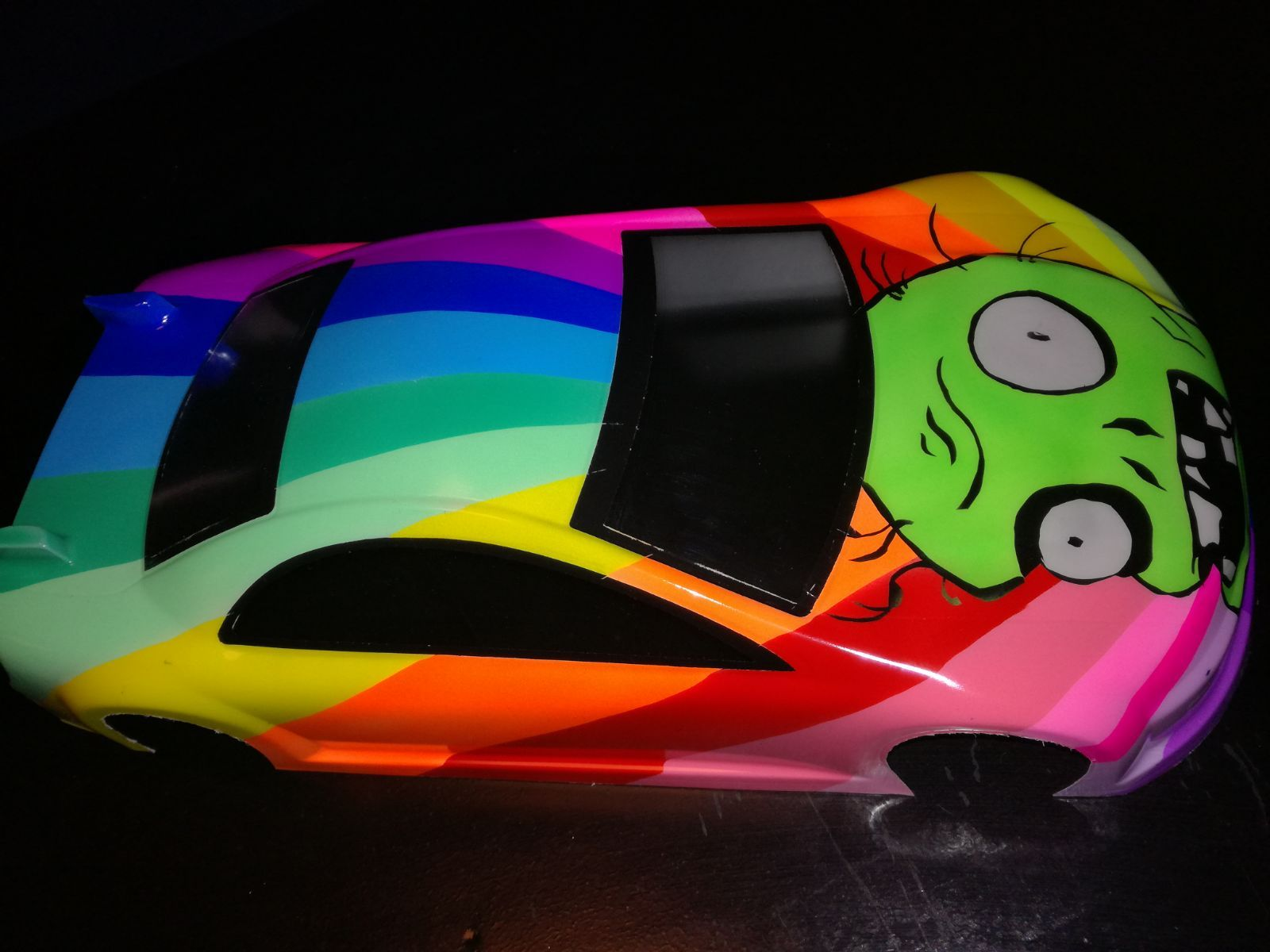 Frank Airbrush RC car paint airbrush body (With images