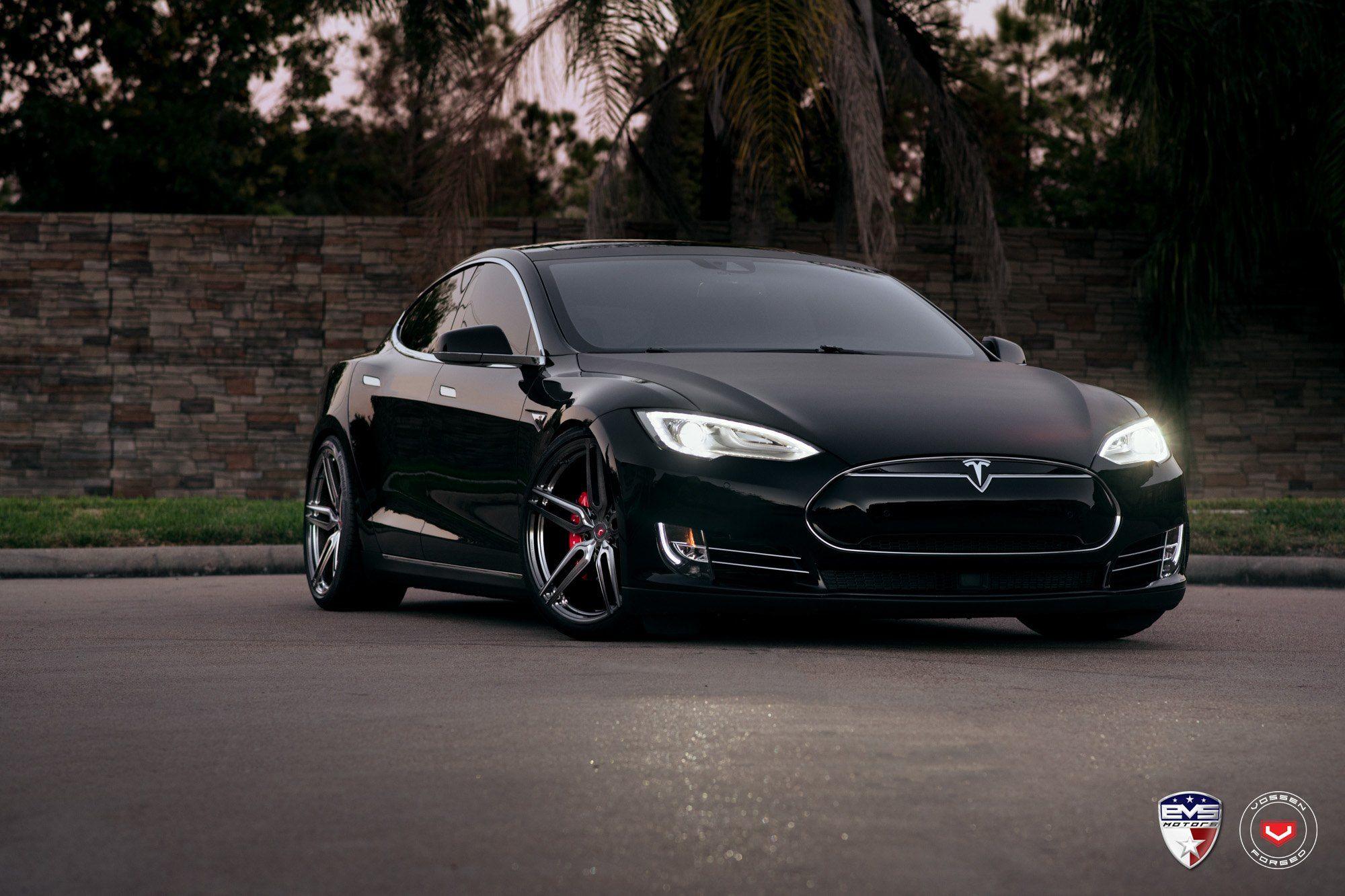 Matte Black Is The New Black Stunning Tesla Model S Transformed Tesla Model S Tesla Model Tesla Model S Black