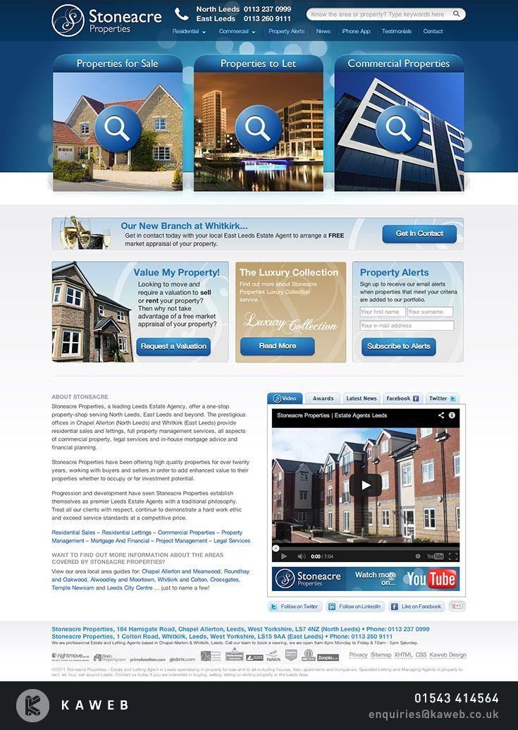 Stoneacre Properties Professional Estate And Letting Agents Leeds Kaweb Web Design Leeds Http Www Kaweb Co Uk Estate Agent Commercial Property Estates
