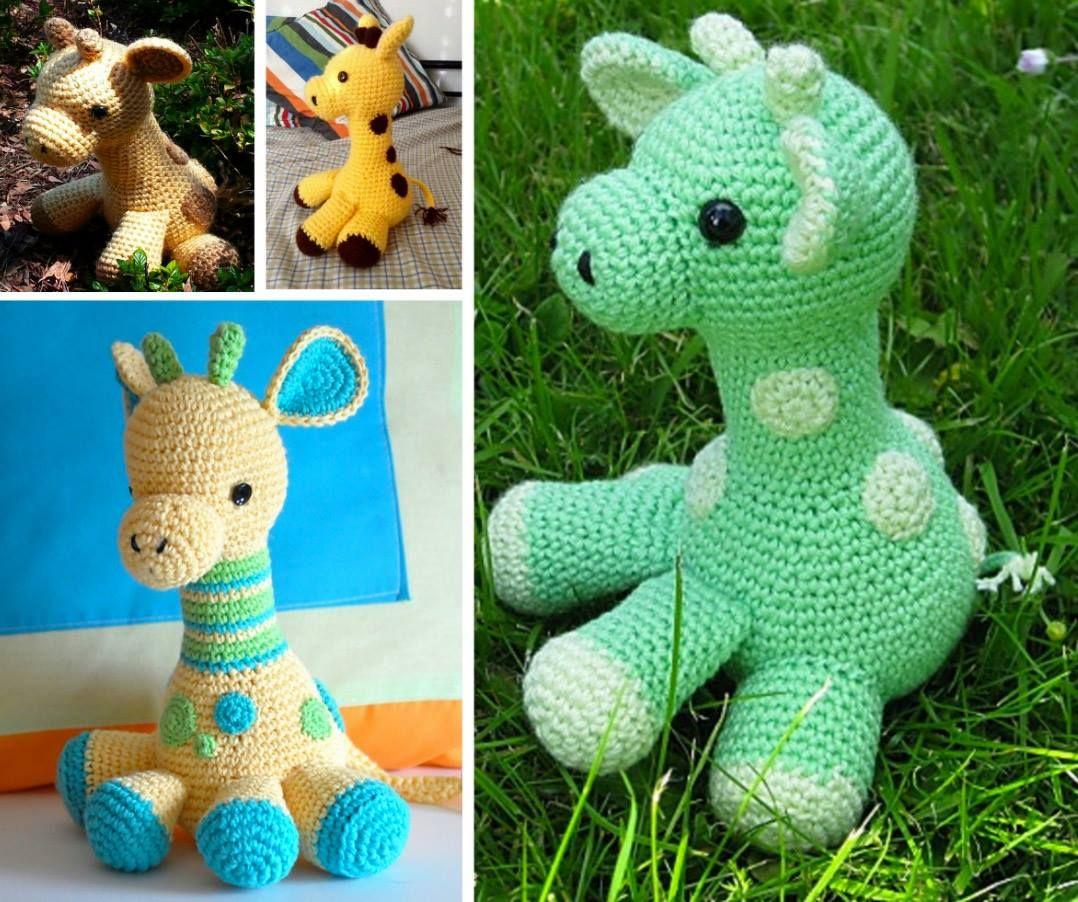 Crochet Giraffe The Cutest Ideas Ever | Giraffe, Free pattern and ...