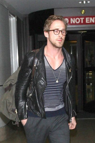 Ryan Gosling at LAX