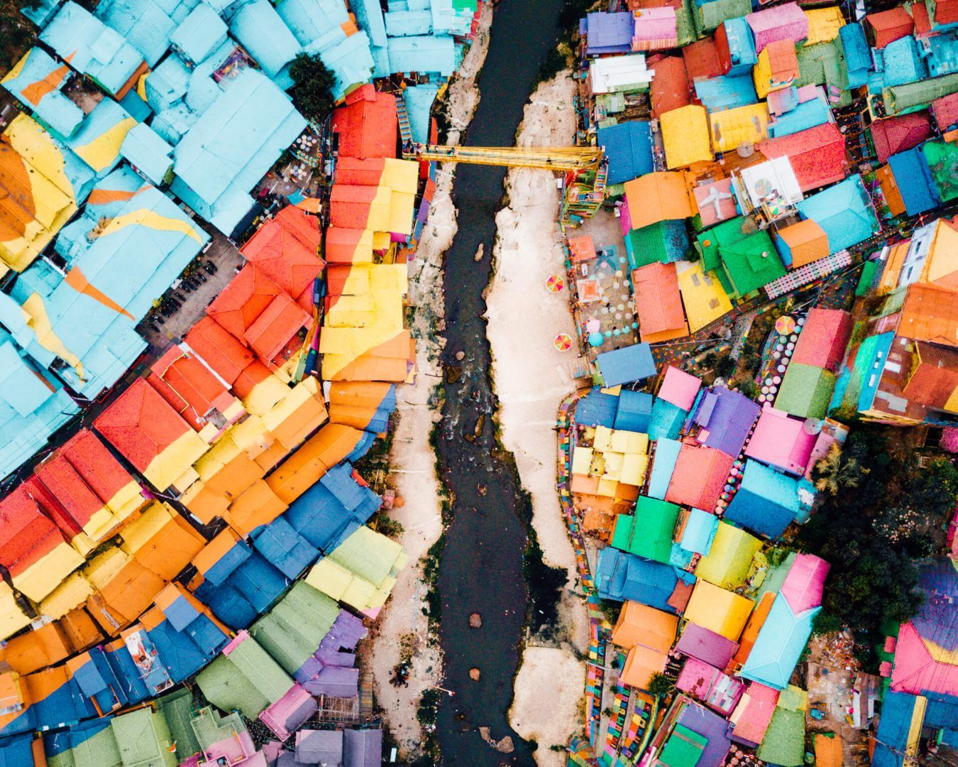 Colorful Rainbow Village In Malang A Must Visit In Java Indonesia East Java Malang Indonesia