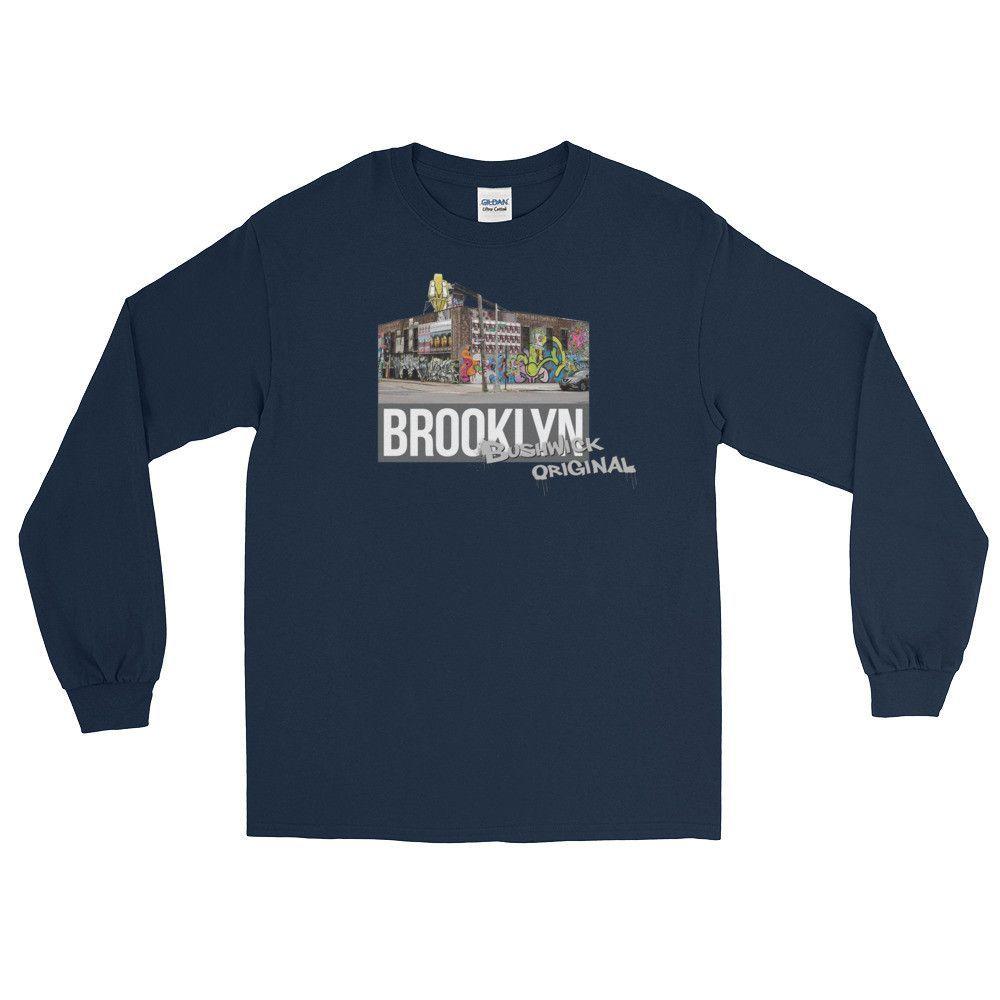 Bushwick Original Long Sleeve T-Shirt - Gray