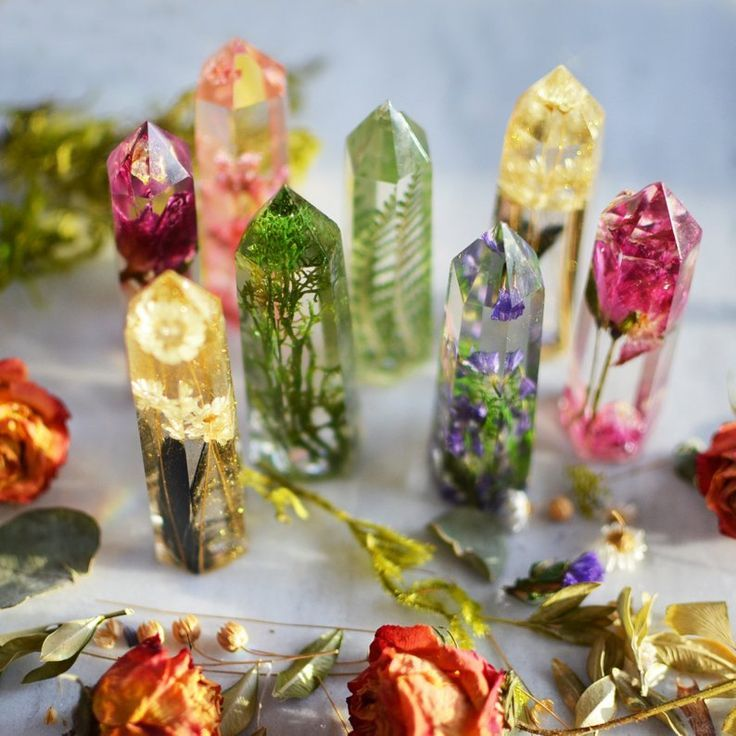 Photo of Resin Crystals