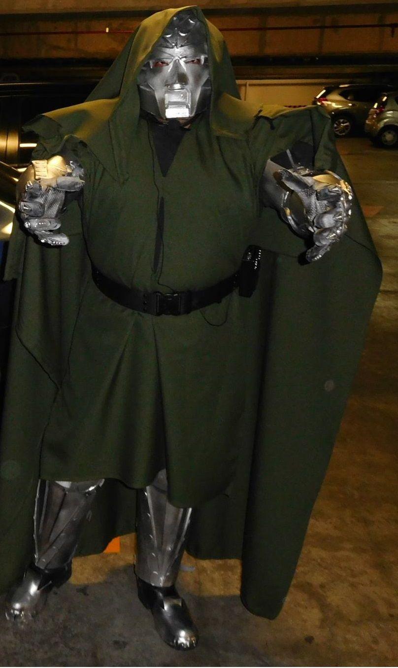 Doctor Doom La Mole Comicon 2016 de septiembre | Dr.Doom ...