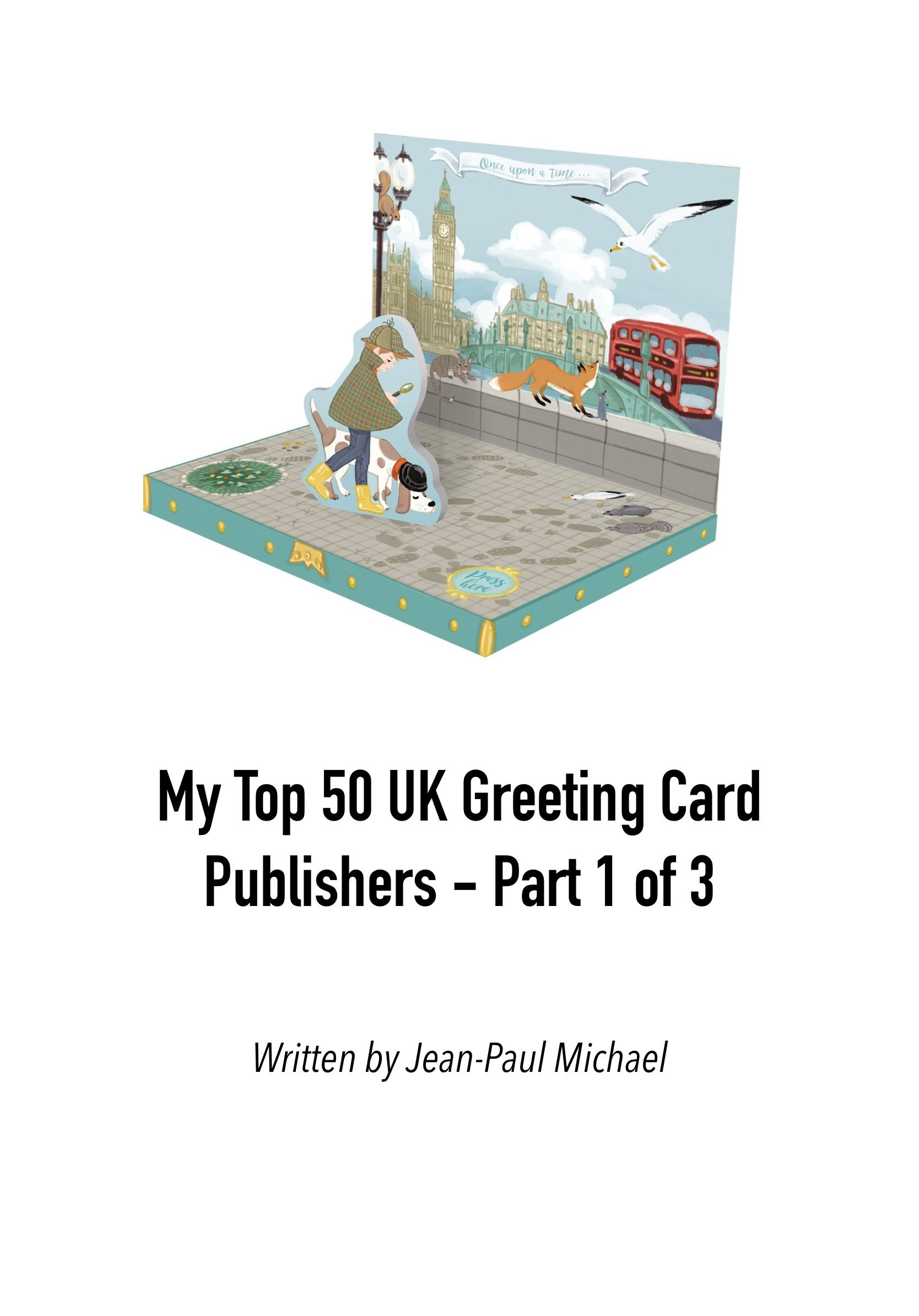 My Top 50 Uk Greeting Card Publishers Part 1 Of 3 With Images