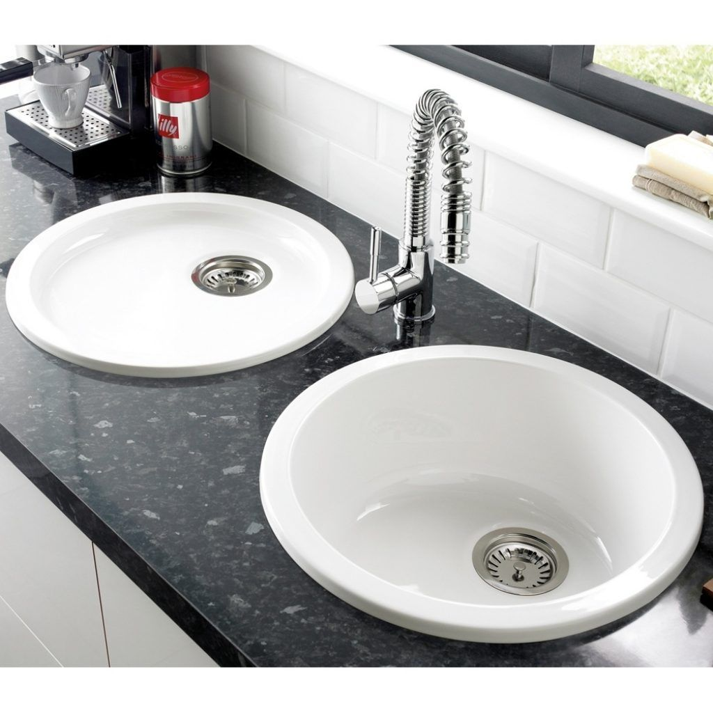 White Ceramic Round Kitchen Sinks | http://yonkou-tei.net ...
