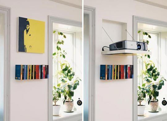 Hidden Projector Behind Wall Art & Look! Hidden Projector Behind Wall Art | Pinterest | Projection ...
