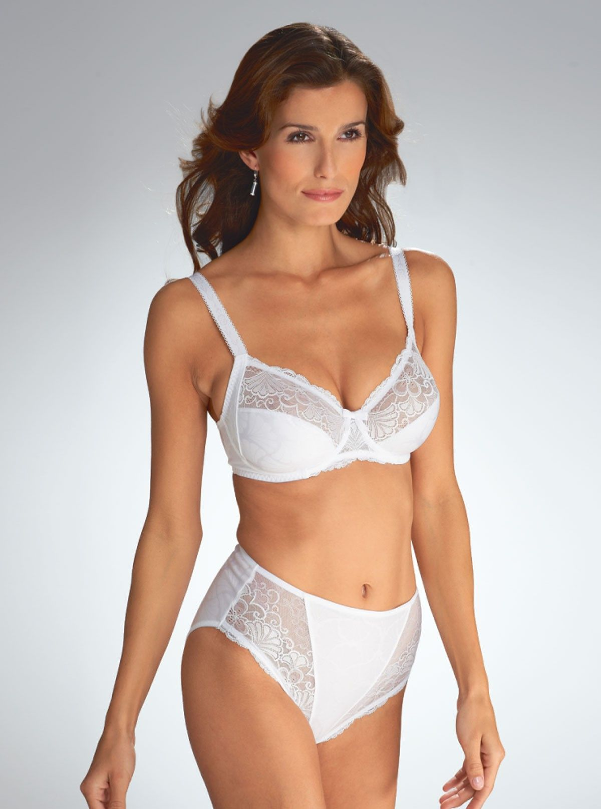 d8f4f7a7bb White Bra and Panties Set