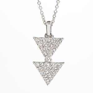 Touchstone Crystal by Swarovski ~ Pave Triangles Necklace ~ Order yours: www.touchstonecrystal.com/deannawhirley