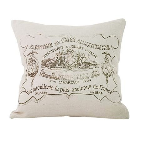 French Signpost Pillow