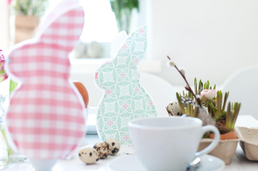 Eierwärmer in Hasenform nähen - Einfache Nähanleitung | Pinterest ...