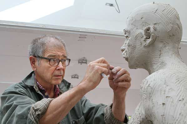 World Famous Sculptor | World-famous sculptor shapes Portland Immigrant Statue
