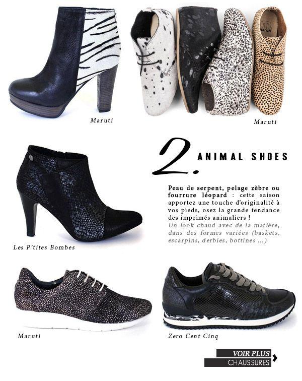 Découvrez les must-have de vos marques préférées !  Animal Shoes ?