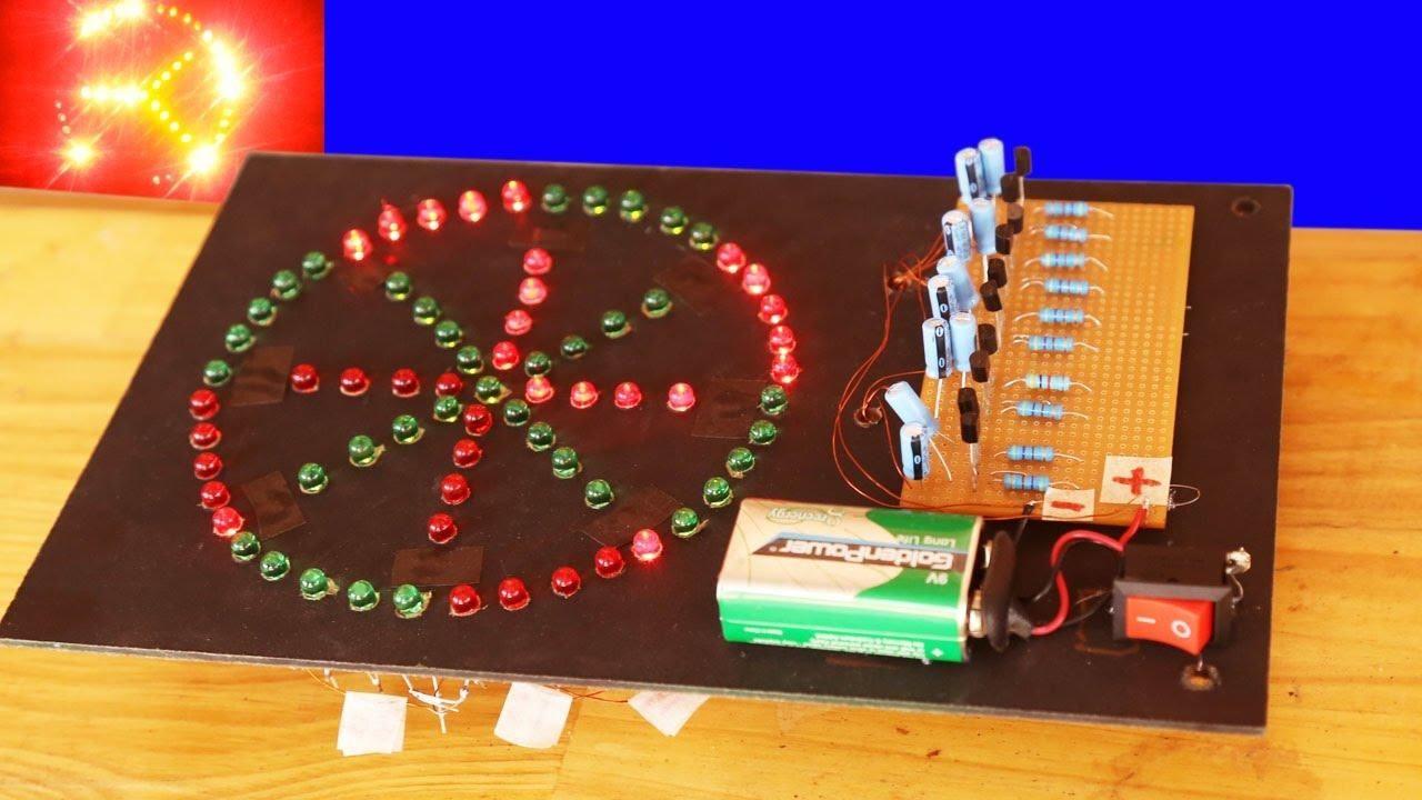 Como fazer Easy Chill 73 Led circuit Easy, Led, Eletronicos