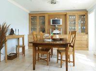 Dining Room with Oak Dresser