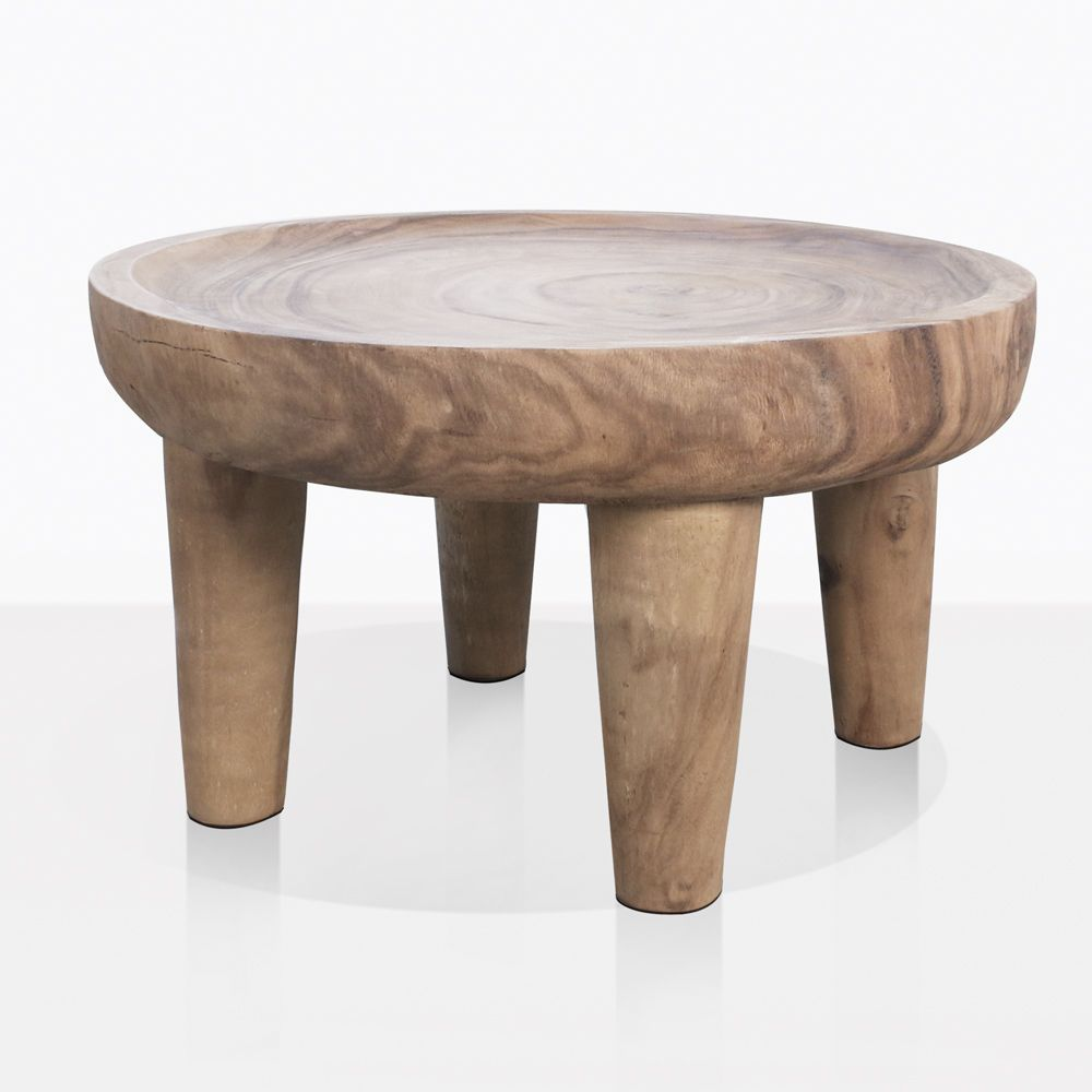 African Safari Large Teak Side Table | Patio Furniture ...
