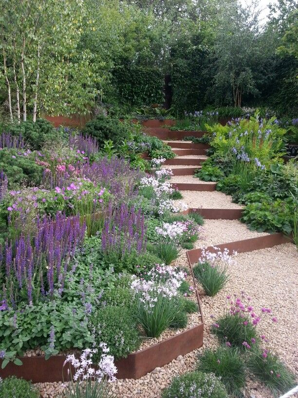 gravel garden drought tolerant