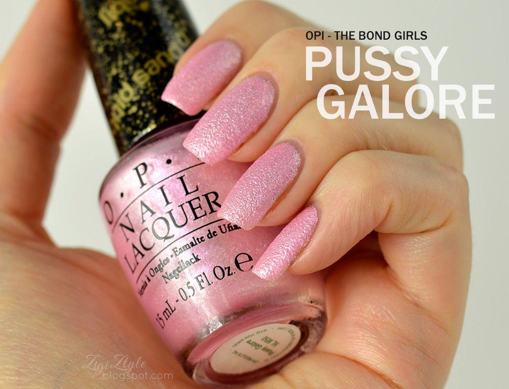 ZigiZtyle: OPI Bond Girls Collection (Liquid Sand)