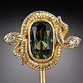 Art Nouveau Tourmaline Stickpin LA 50-1-4516.jpg