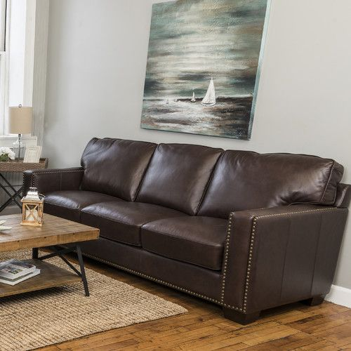 Found It At Wayfair Harpe Campaign Stationary Sofa Modern Leather Living Room Furniture Leather Living Room Furniture Living Room Leather