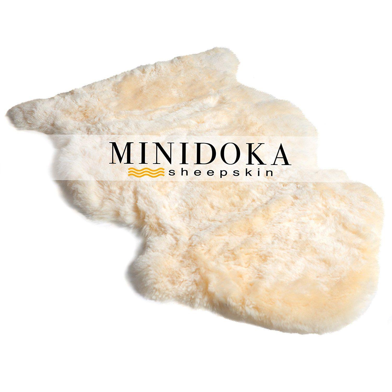 Minidoka Sheepskin Natural New Zealand Lambskin Pet Rug