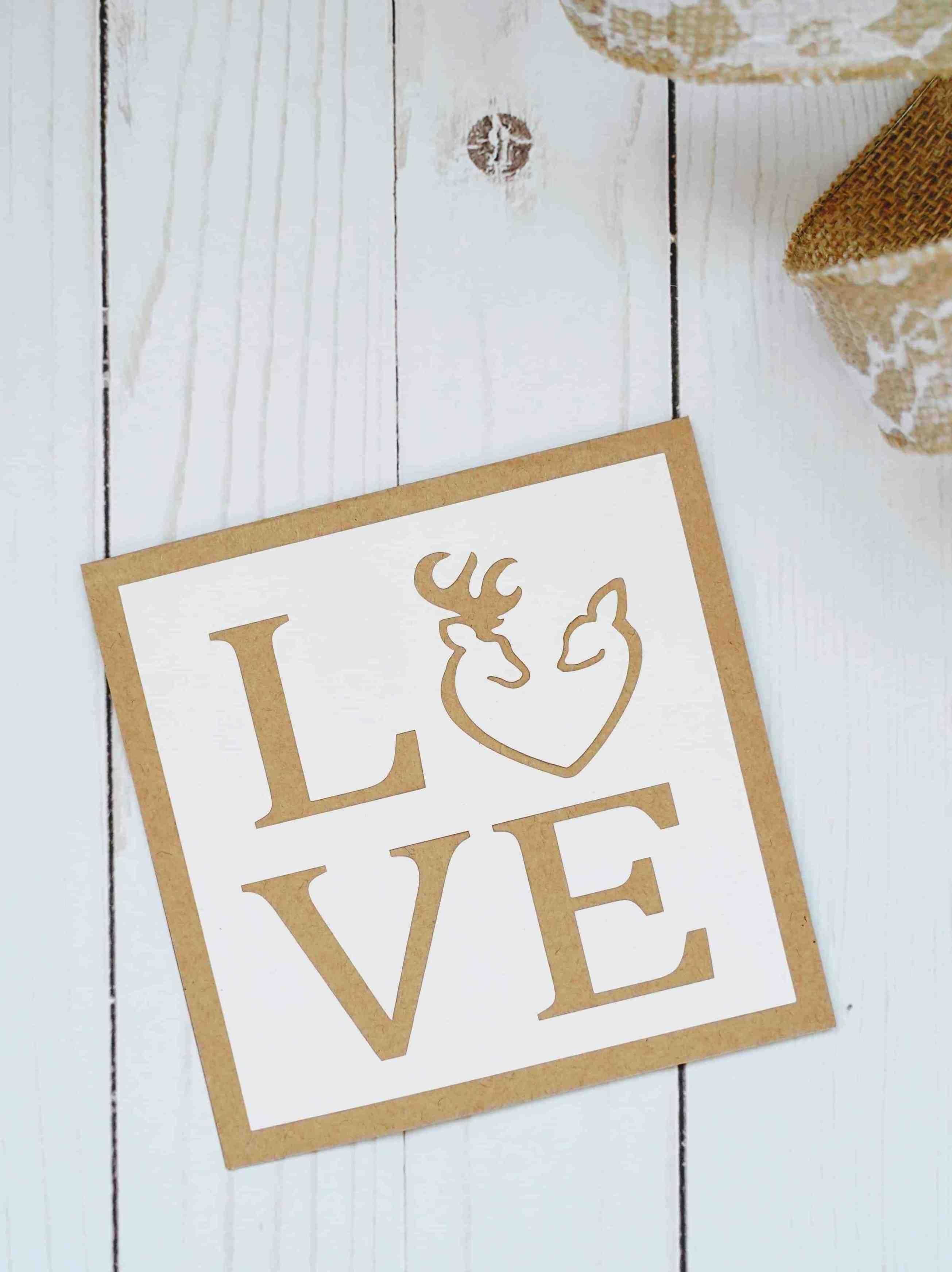 Diy love cards cricut card ideas love cards handmade