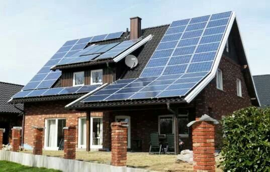 House With Clean Energy In Germany In 2020 Solar Panels Solar Solar Energy Facts