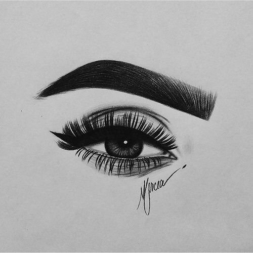 Pin by i am me on rt pinterest for Drawing eyebrows on paper