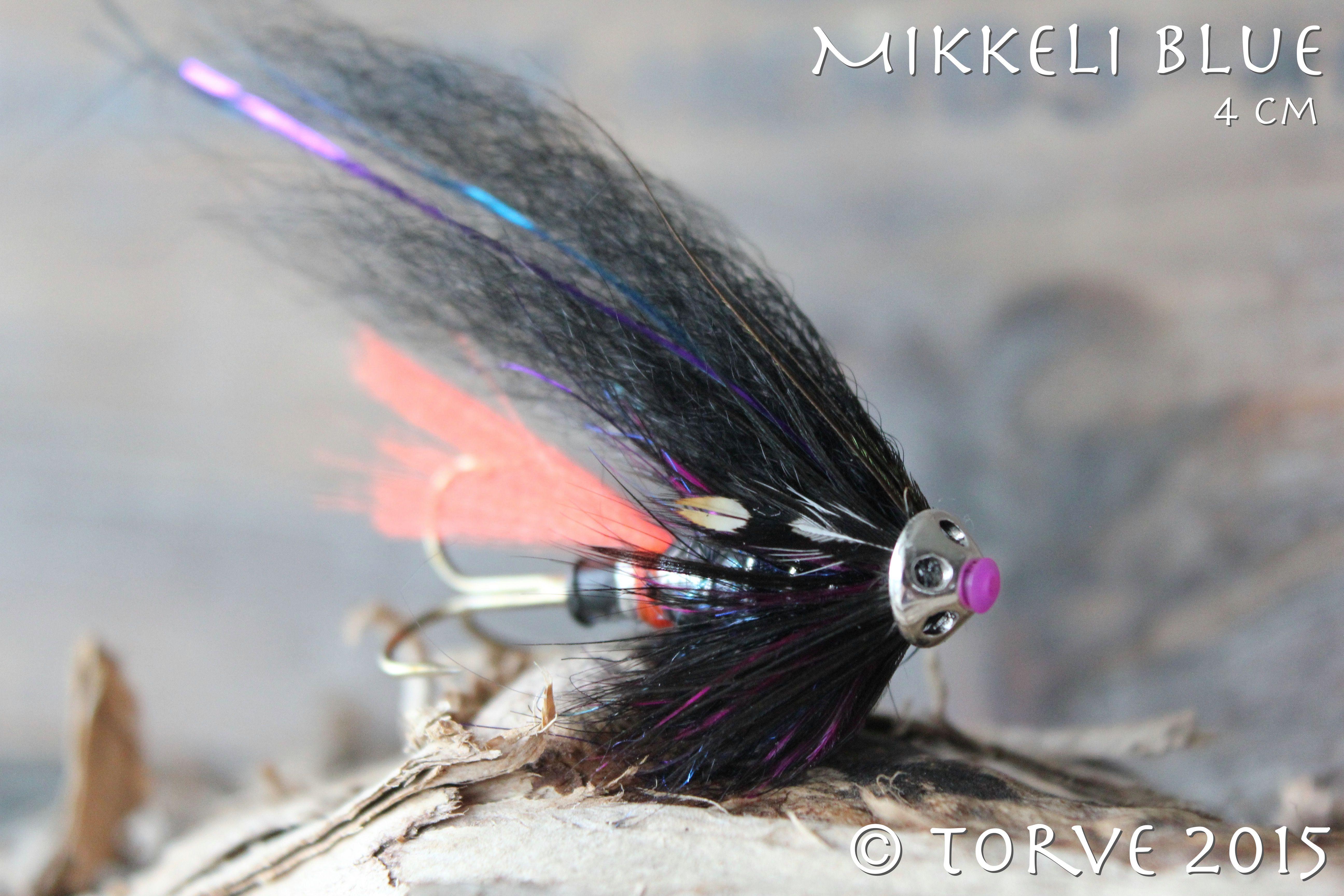 Mikkeli Blue Salmon Fly 4 Cm Tied By Torve Salmon Fishing Salmon