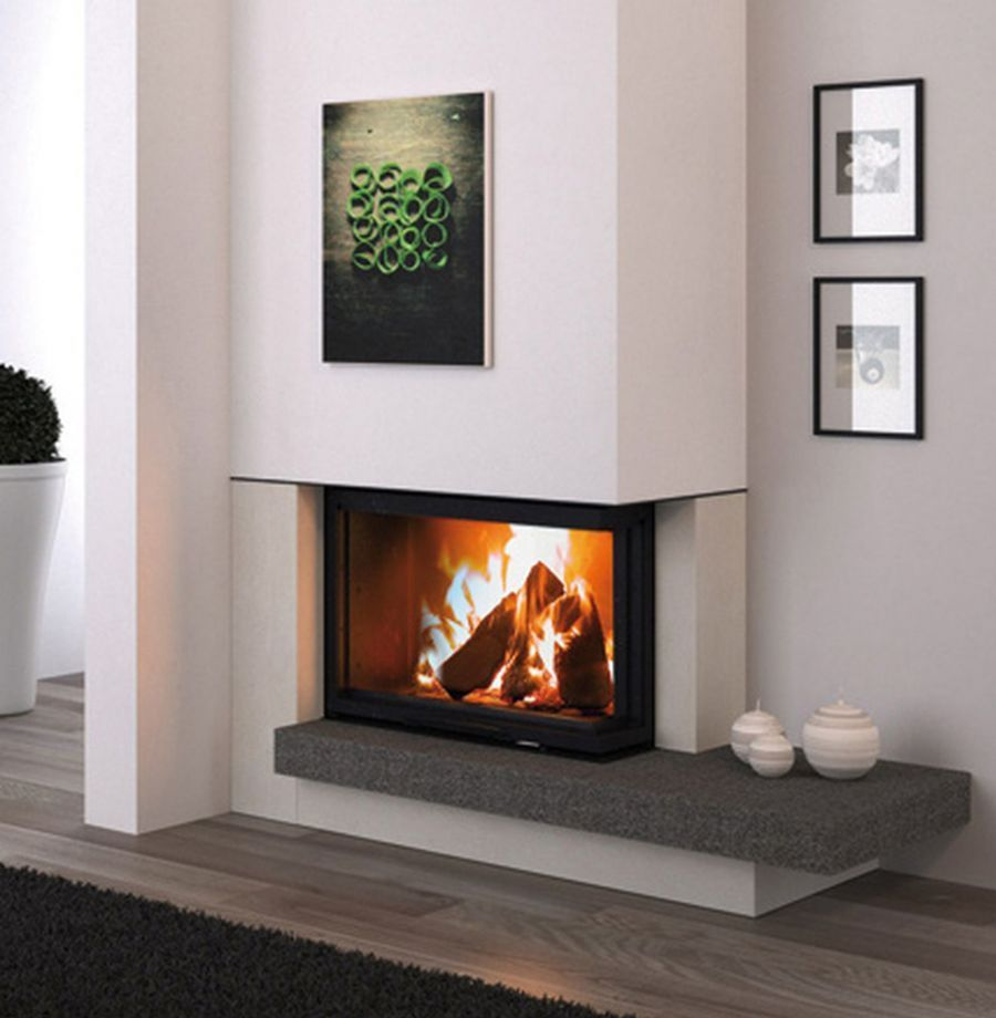 Modern Fireplace Design Ideas Photos