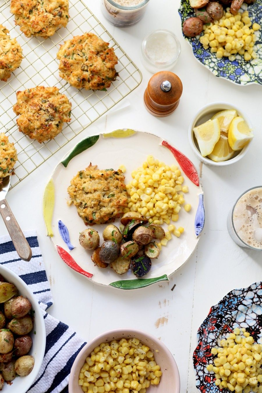 Crab cake dinner joy the baker recipe crab cakes