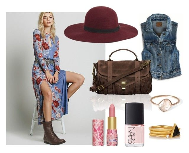 Saturdaze by astoldbyalaina on Polyvore featuring American Eagle Outfitters, Free People, Wet Seal, Proenza Schouler, Kevia, Parisi, Maison Scotch, tarte and NARS Cosmetics