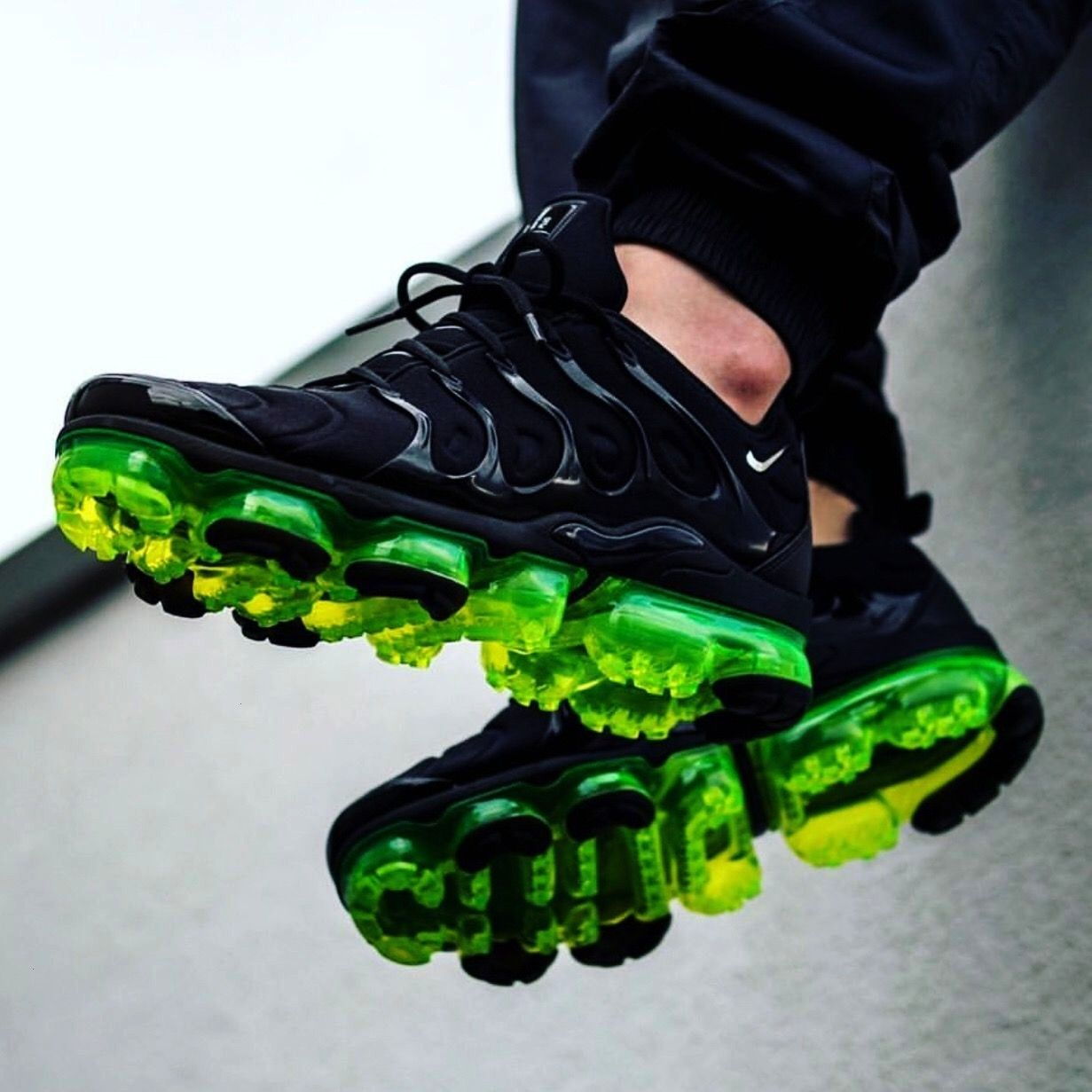VaporMax Plus Mens Shoe Air VaporMax Plus Mens Shoe  Left or right   Click the link in our bio to shop for your favorite Jordans and Yeezys   Photo by justwincustoms Nike...