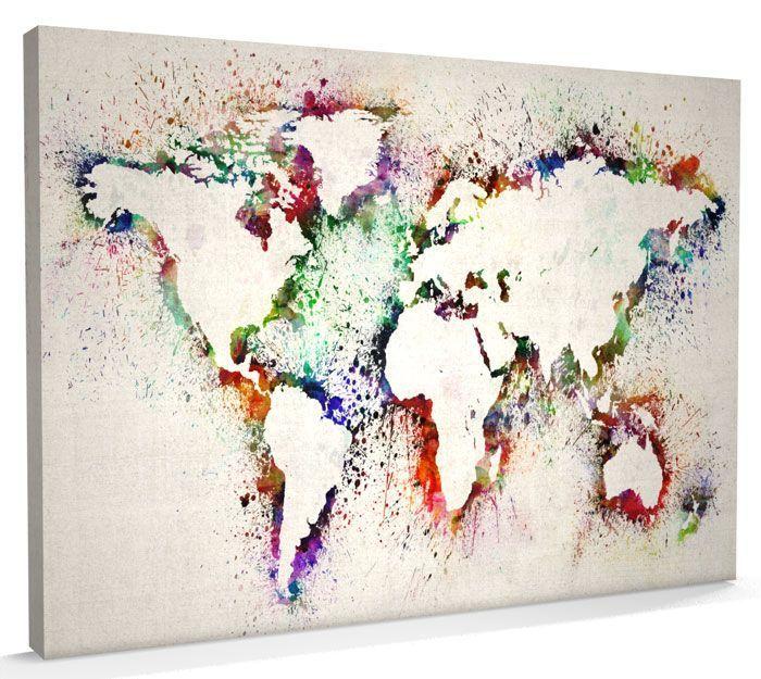 20 Creative And Easy Diy Canvas Wall Art Ideas Malerier Laerred Maleri Og Kreativt Snorarbejde