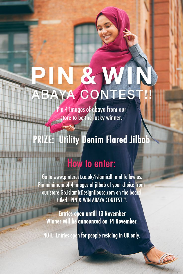 To Enter Into The Competition Pin 4 Images Of Jilbab From Our Store