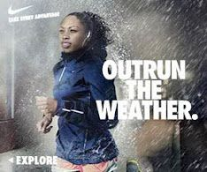 I run for...I love running in the rain..as long as there is no lightning -MS