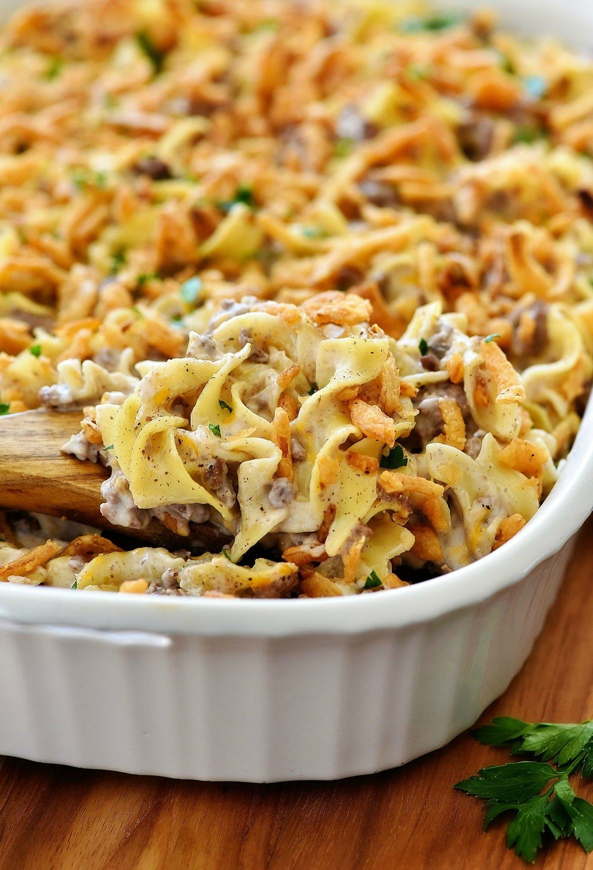 French Onion Beef Casserole images