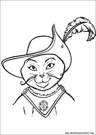 Resultado De Imagem Para Desenho Do Gato De Botas Desenhos De